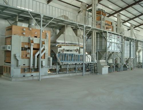 安装玉米种子成套加工生产线